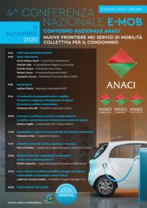 Programma Conferenza nazionale e mob 2020 Anaci