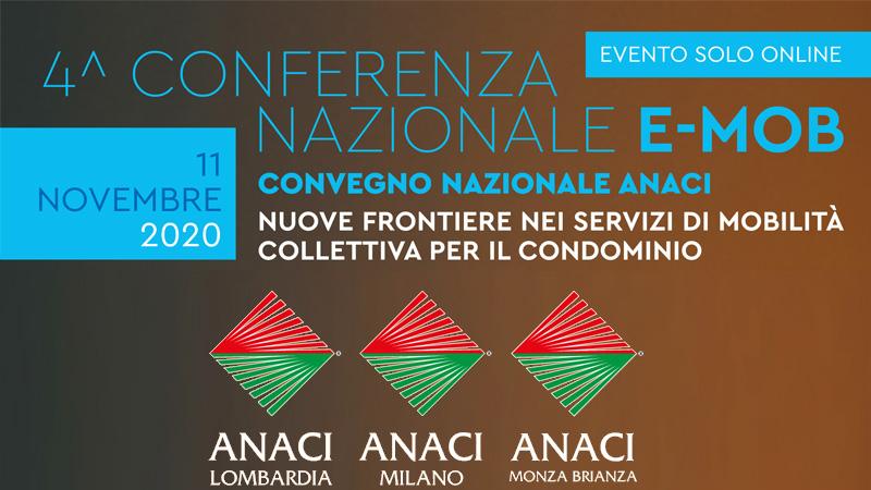 Conferenza nazionale e mob 2020 Anaci Amministratori di Condominio